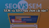 SEM and SEO, which one to choose?