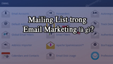 What is the Mailing List in Email Marketing?