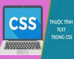 Text property in CSS