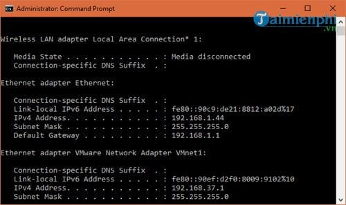 5 command prompt obtained by the user who knows 3