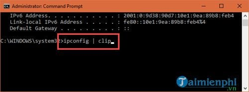 5 command prompt obtained by the user who knows 4