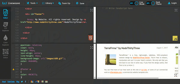 5 best online HTML editor for programmers 6