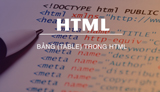 Study the table (table) in HTML