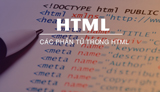Learn the elements in HTML