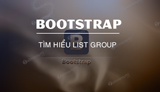 List Group in Bootstrap, effects and how to create