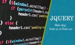 Fade in and Fade out effects in jQuery