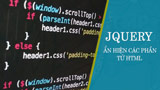 Show HTML elements with jQuery