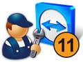 Install Teamviewer 11 to manage and connect to remote computers