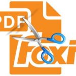 How to cut a PDF file with Foxit Reader