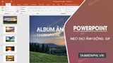 Create animations, GIFs with PowerPoint