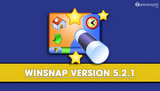 What's new in WinSnap 5.2.1?