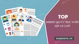 Top website to create beautiful and quality online CV