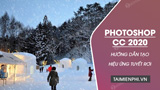 How to create snowfall in Photoshop CC 2020