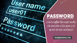 How to check your account password has been leaked or not?