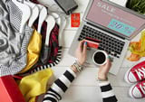Online clothing trading experience
