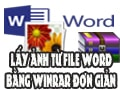 How to retrieve images from Word files with Winrar is simple
