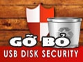 Uninstall, delete USB Disk Security software on Win 7, 8, 10