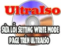 Fix Setting Write Mode Page error when burning disc on UltraISO