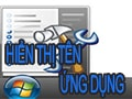 Display and hide application names on the Taskbar in Windows 7, 8, 8.1, 10
