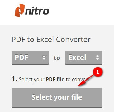 convert pdf to excel convert pdf file to xls