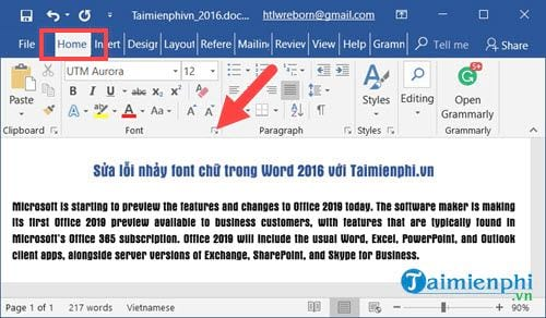how to fix font fonts in word 2016 2
