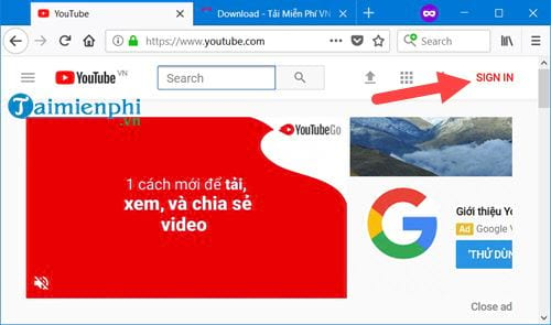 how to create chanel youtube 2
