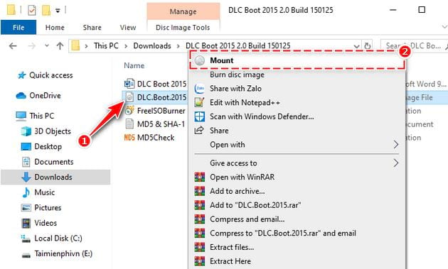 how to create bootable usb with dlc boot 2015 2
