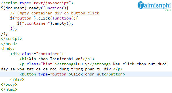 Remove the fragments and the crystals in jquery