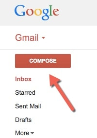 send email address with gmail