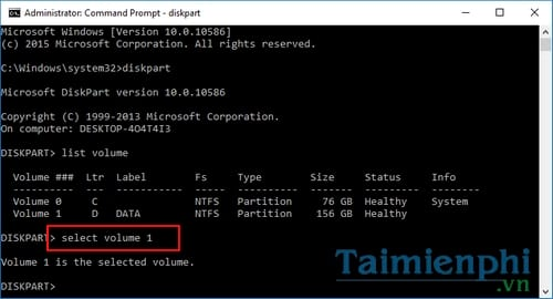 security in the region by command prompt 6