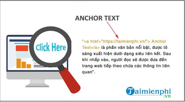 anchor text is how to use the text through 2