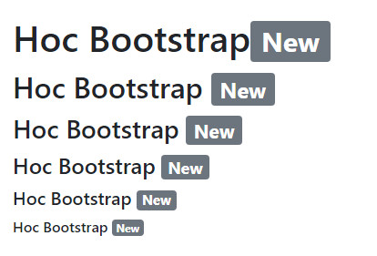 badge in bootstrap 2