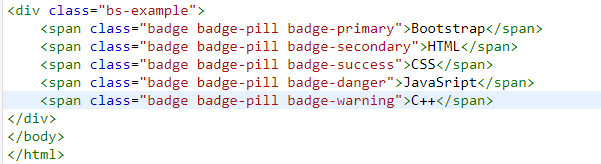 badge in bootstrap 5