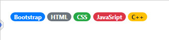 badge in bootstrap 6
