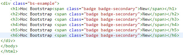 badge in bootstrap