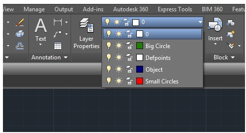 lesson 3 set the layer in autocad 4