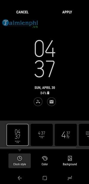 Always do everything on display on Samsung Galaxy S8 S8 Plus 7
