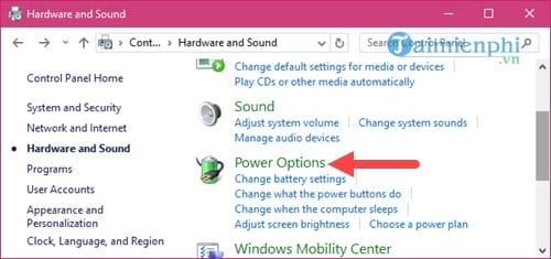 Select all suspend USB selective suspend on windows 10 4