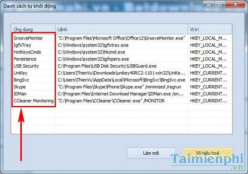 All software must be restored on Windows with USB disk security