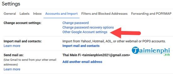 start to verify 2 gmail on your phone 3