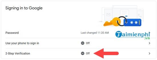 start verifying 2 gmail message on your phone 5