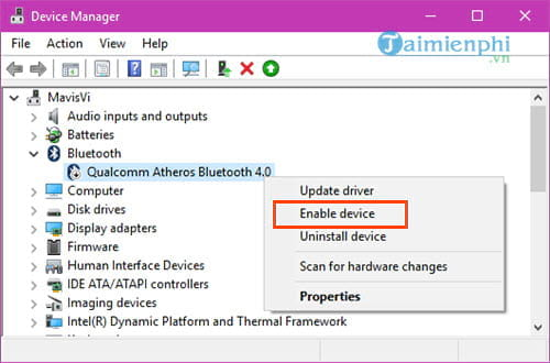 bluetooth laptop is a fault and method 12