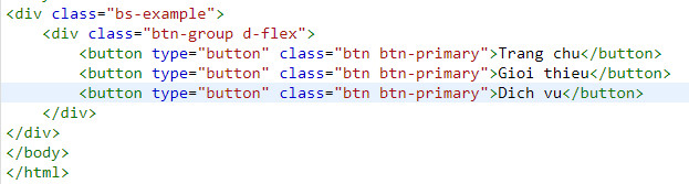 button group in bootstrap 11