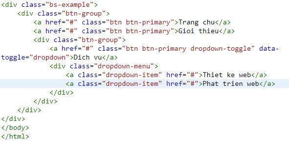 button group in bootstrap 7