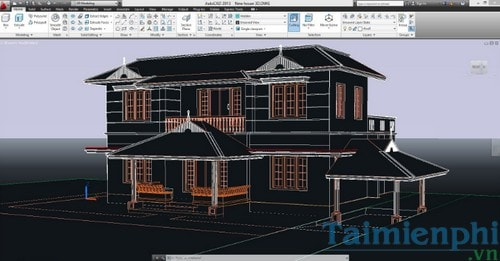All commands are in AutoCAD