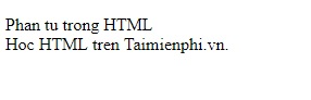 text in html 11