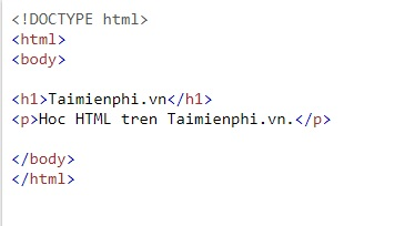 text in html 3