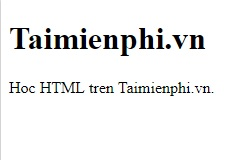 text in html 4