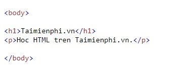 text in html 6