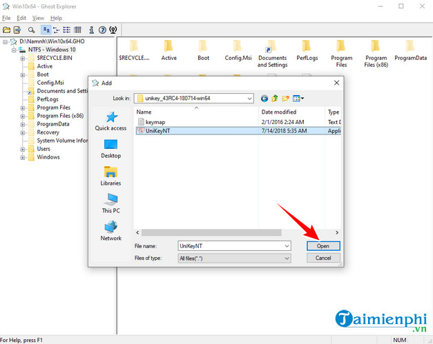 How to add a memo to the ghost file 7